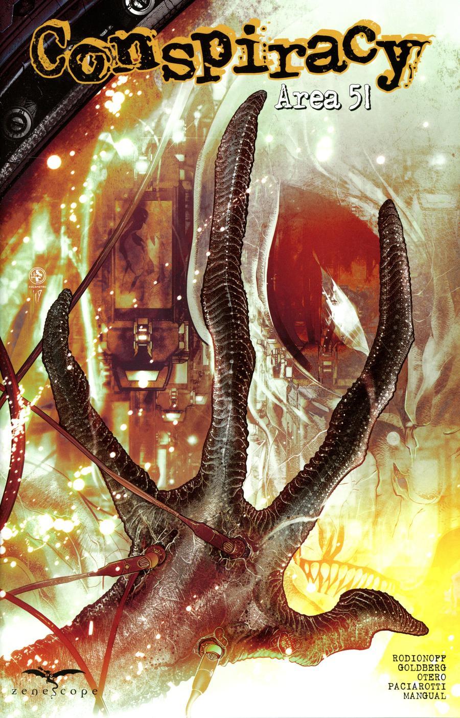 Conspiracy: Area 51 #1 (2020)