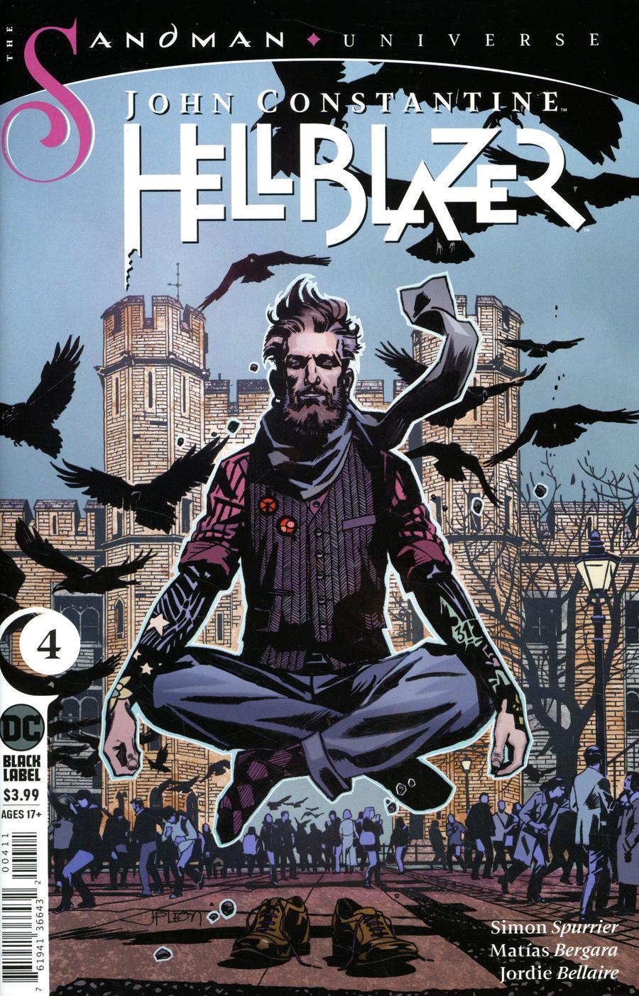 John Constantine Hellblazer #4 (2020)
