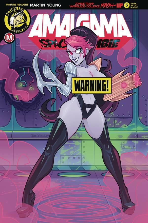 Amalgama Space Zombie #3 (2020)