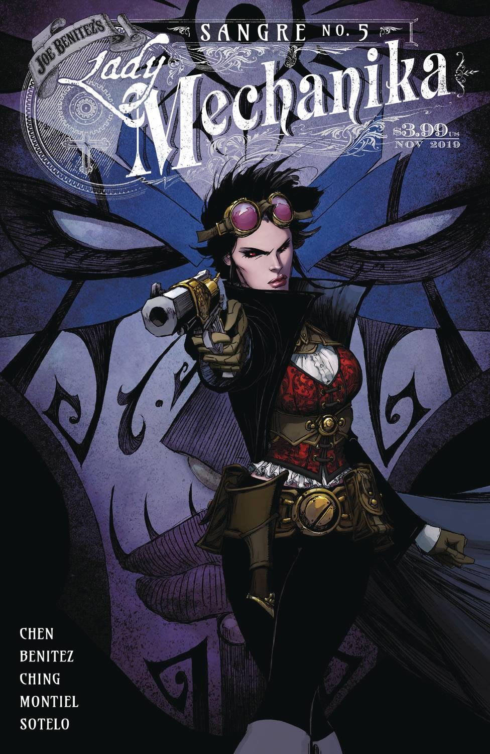 Lady Mechanika: Sangre #5 (2020)