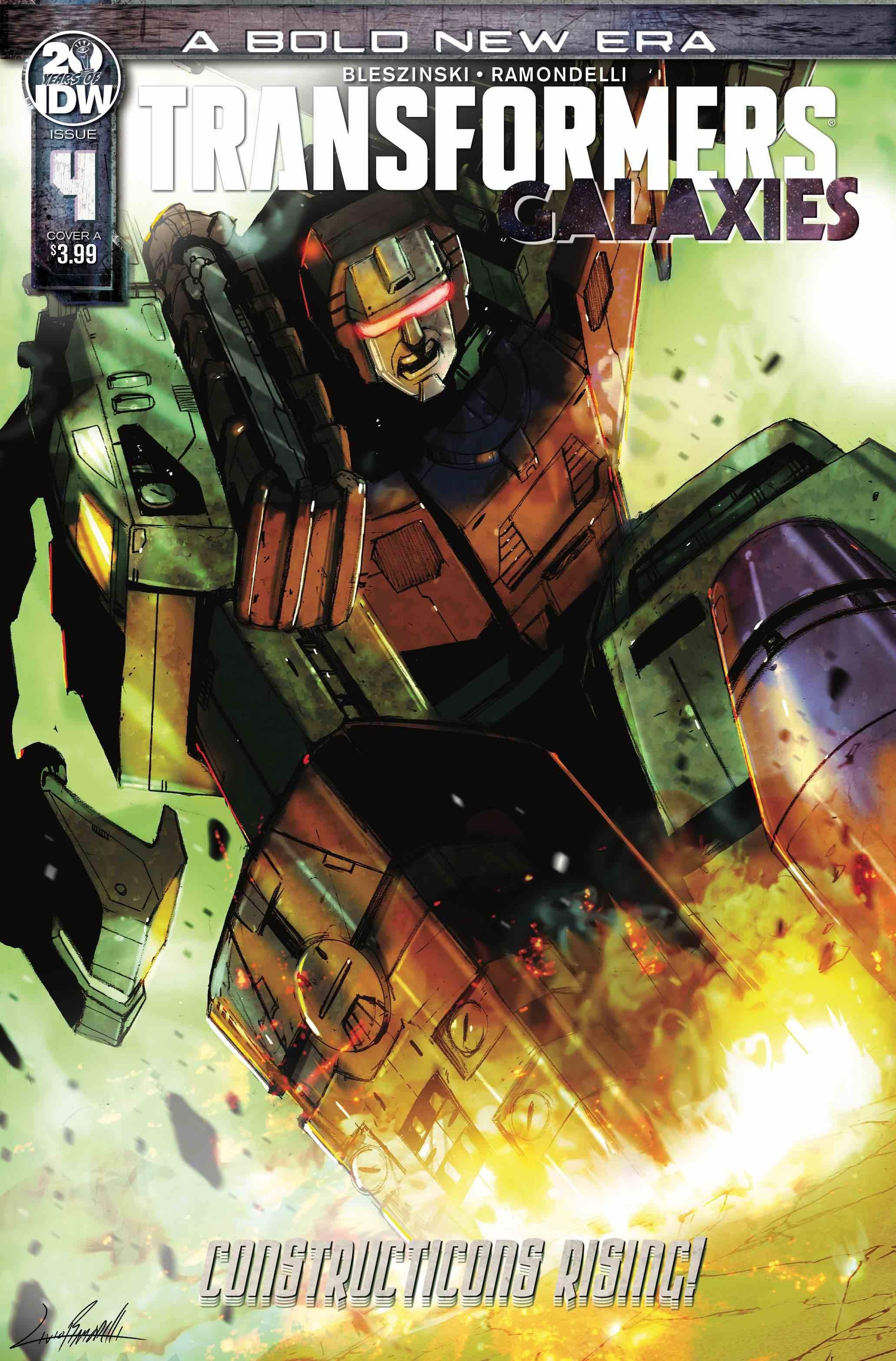 Transformers: Galaxies #4 (2020)