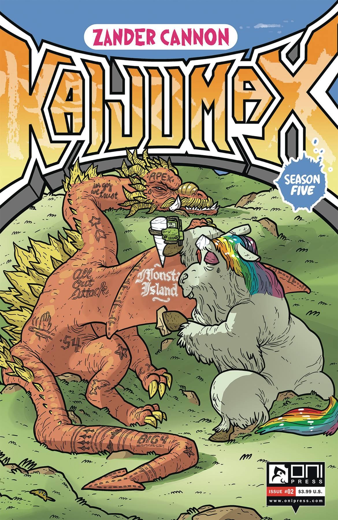 Kaijumax Season 5 #2 (2020)