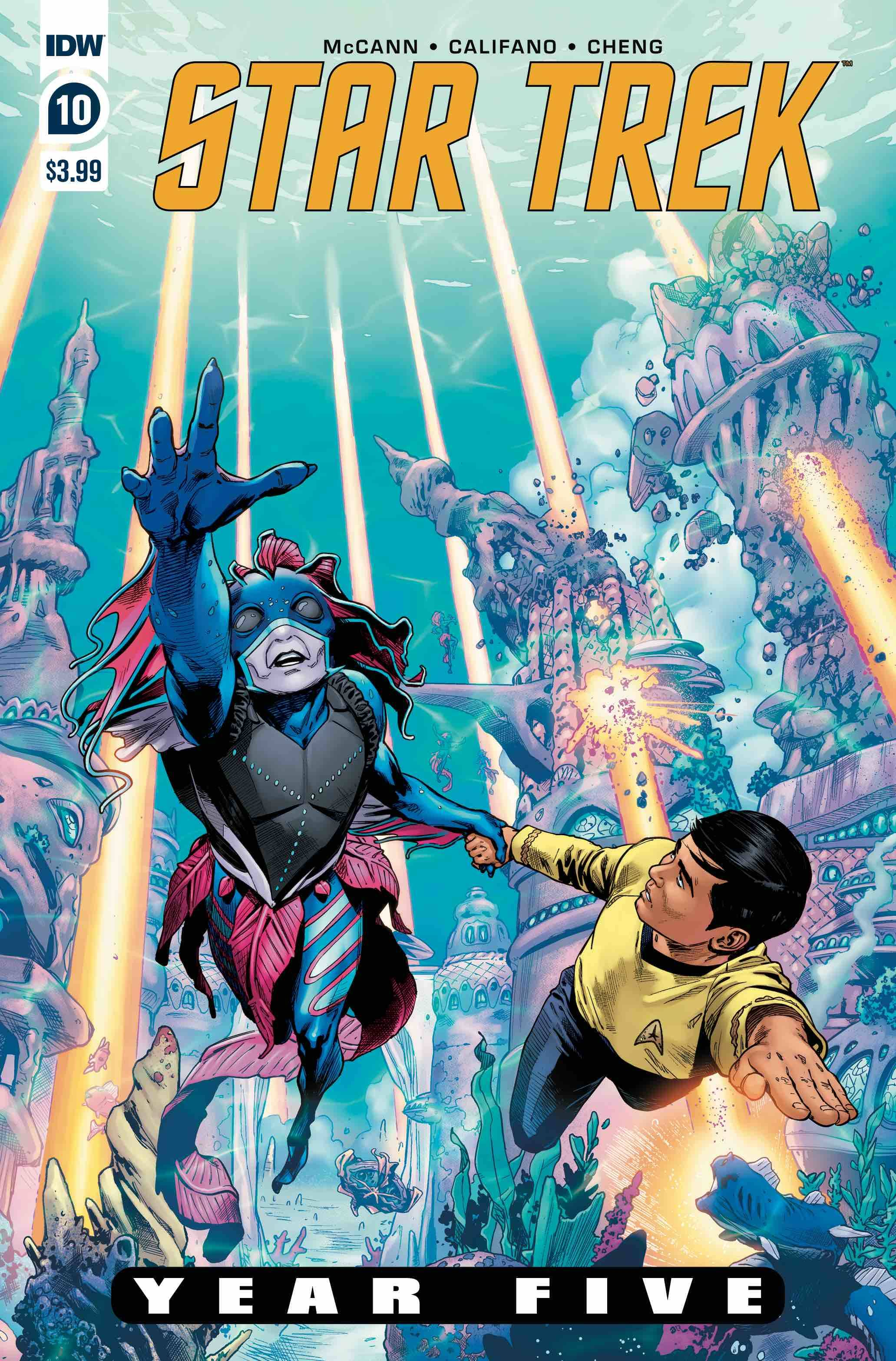 Star Trek: Year Five #10 (2020)