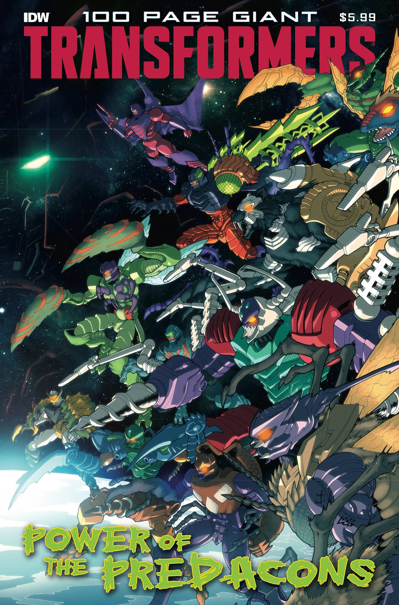 Transformers 100-Page Giant: Power of the Predacons #1 (2020)