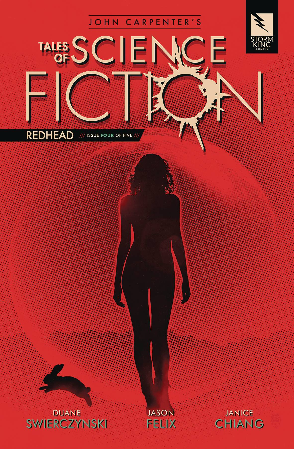 John Carpenter's Tales Science Fiction: Redhead #4 (2020)