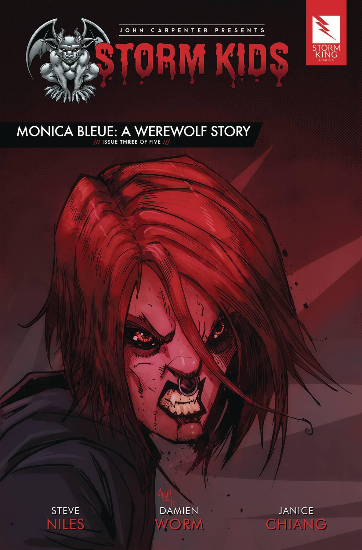 Storm Kids: Monica Bleue - A Werewolf Story #3 (2020)