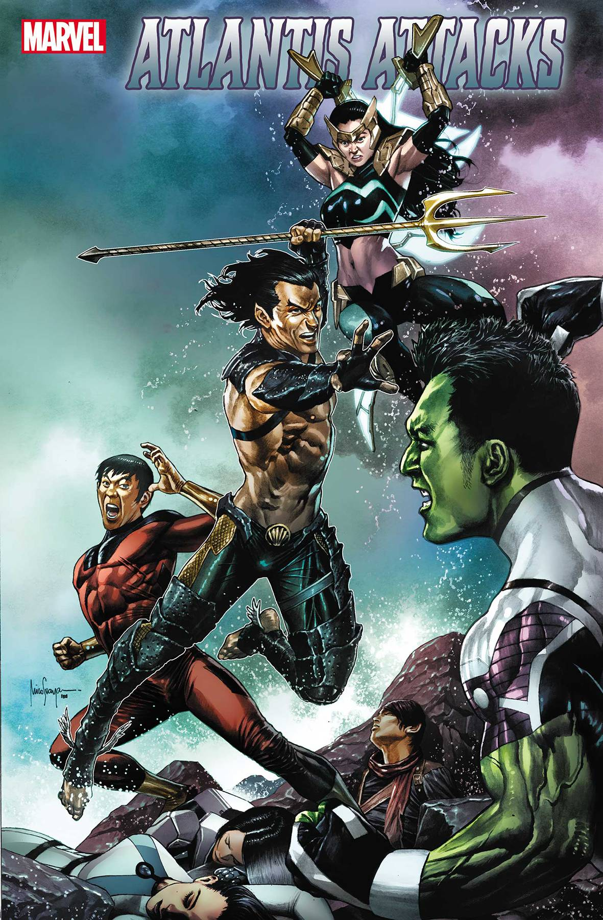 Atlantis Attacks #2 (2020)