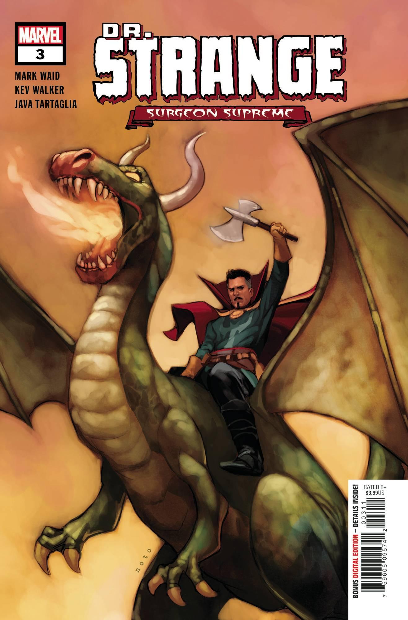 Dr. Strange: Surgeon Supreme #3 (2020)