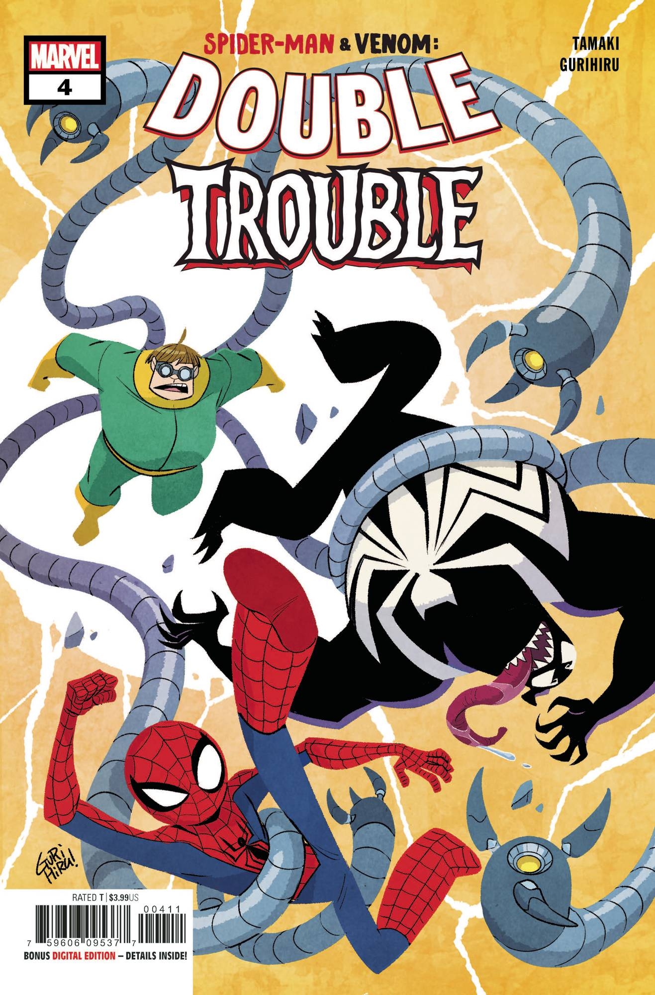 Spider-Man & Venom: Double Trouble #4 (2020)