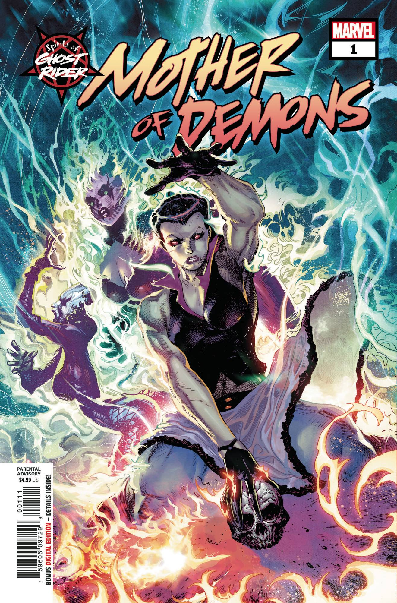 Spirits Of Ghost Rider: Mother Of Demons #1 (2020)