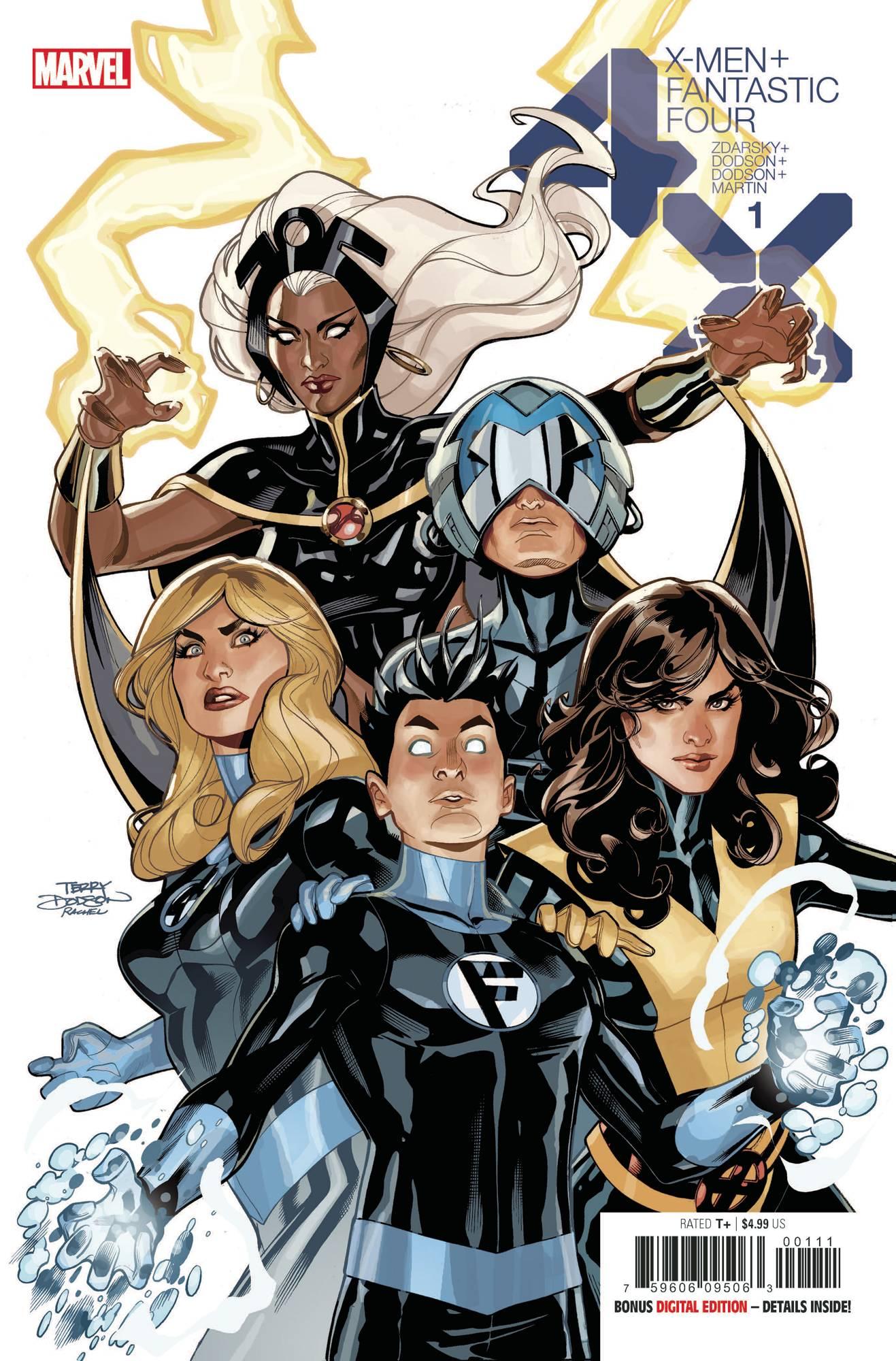 X-Men Fantastic Four #1 (2020)