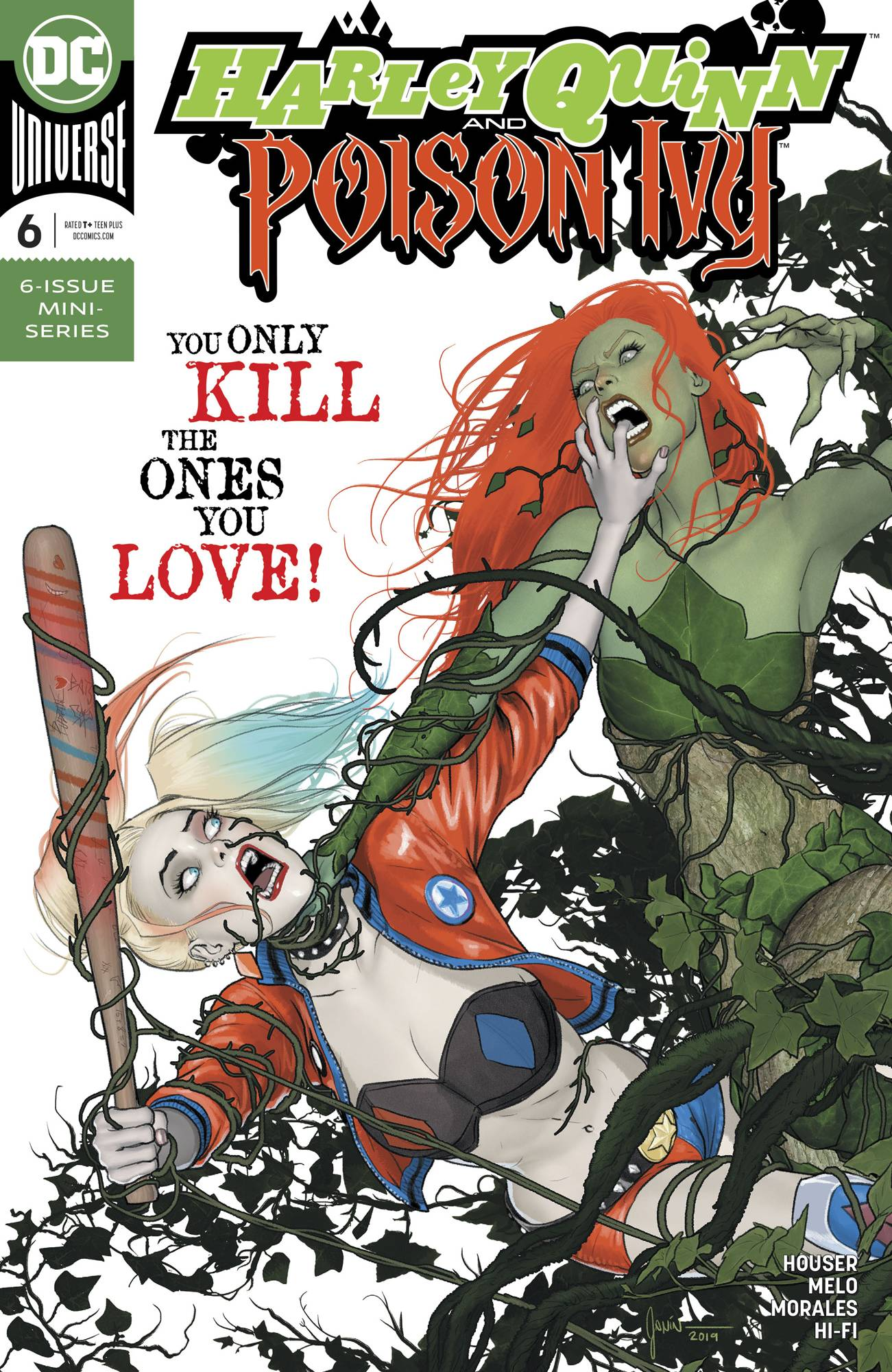 Harley Quinn & Poison Ivy #6 (2020)