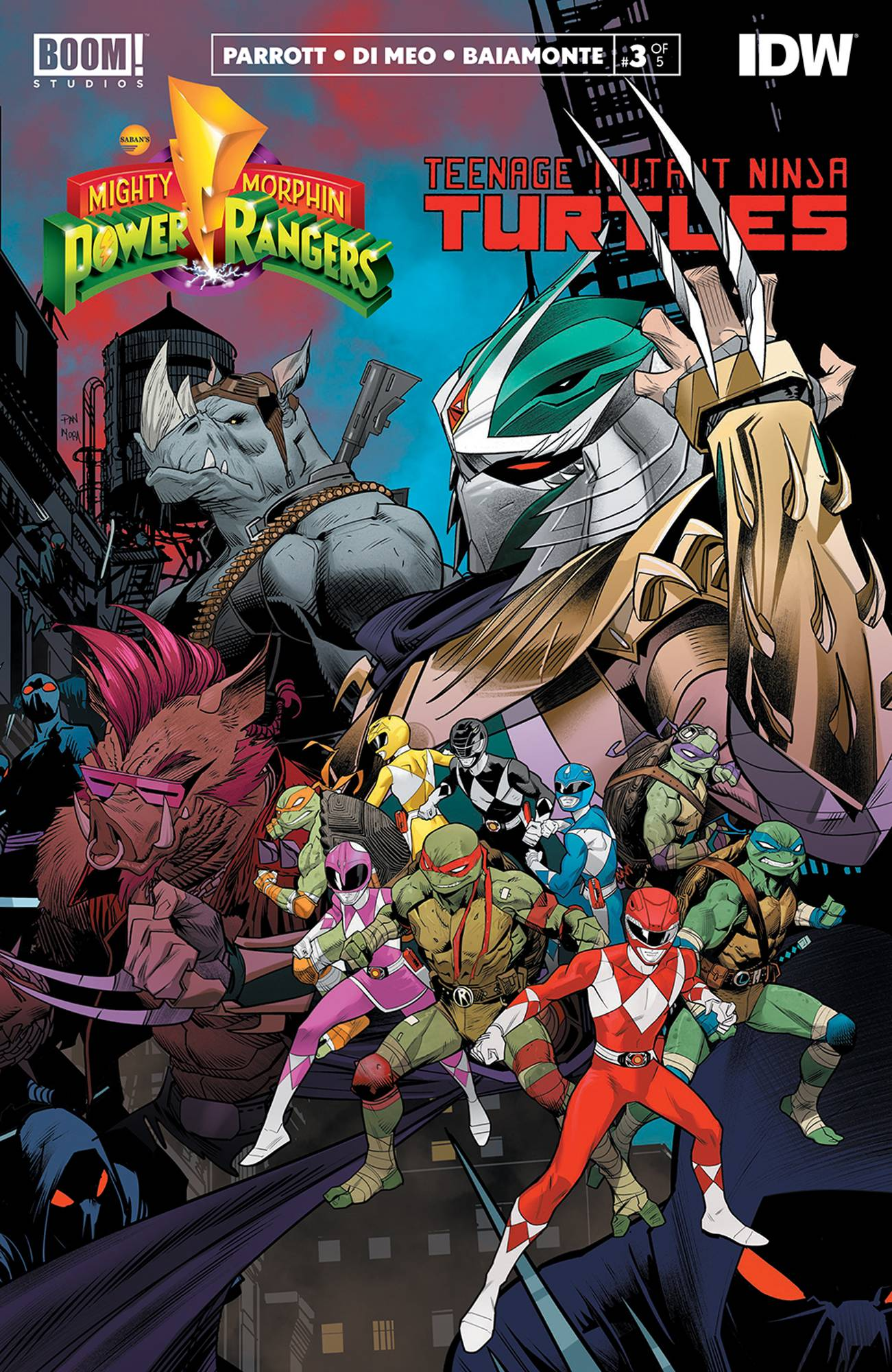 Mighty Morphin Power Rangers Teenage Mutant Ninja Turtles #3 (2020)
