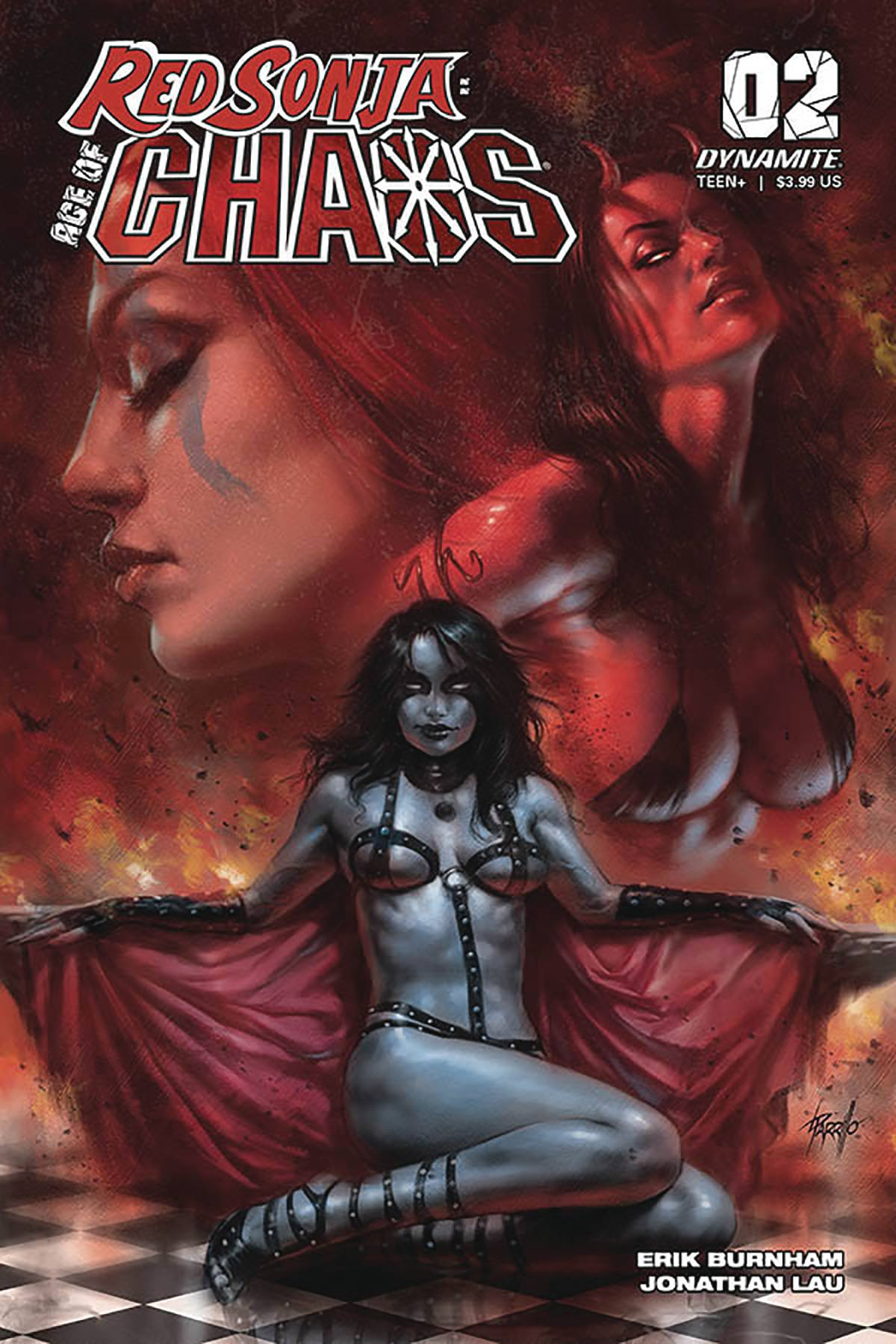 Red Sonja: Age Of Chaos #2 (2020)