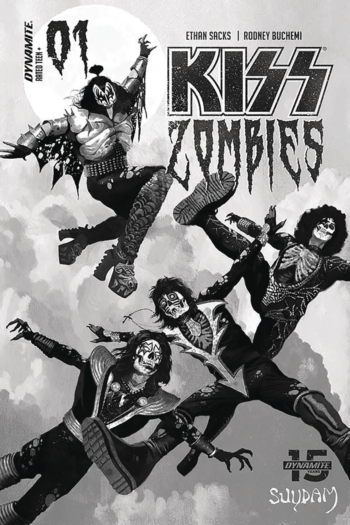 KISS: Zombies #1 (2020)