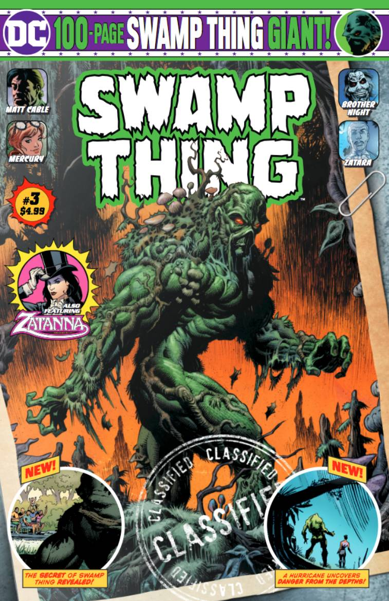 Swamp Thing 100-Page Giant (Walmart) #3 (2020)