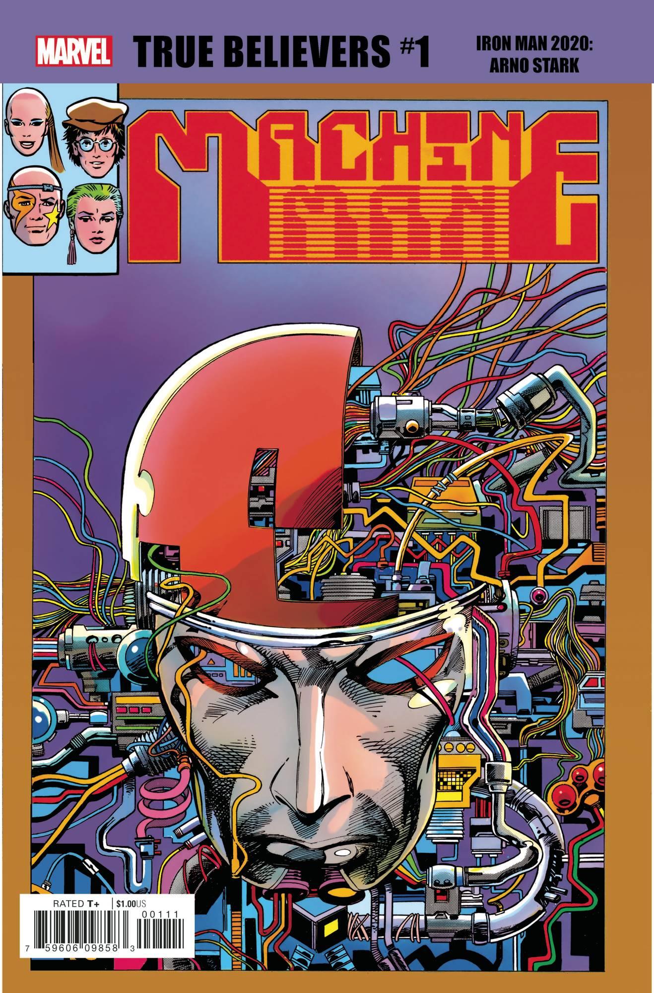 True Believers: Iron Man 2020 - Arno Stark #1 (2020)