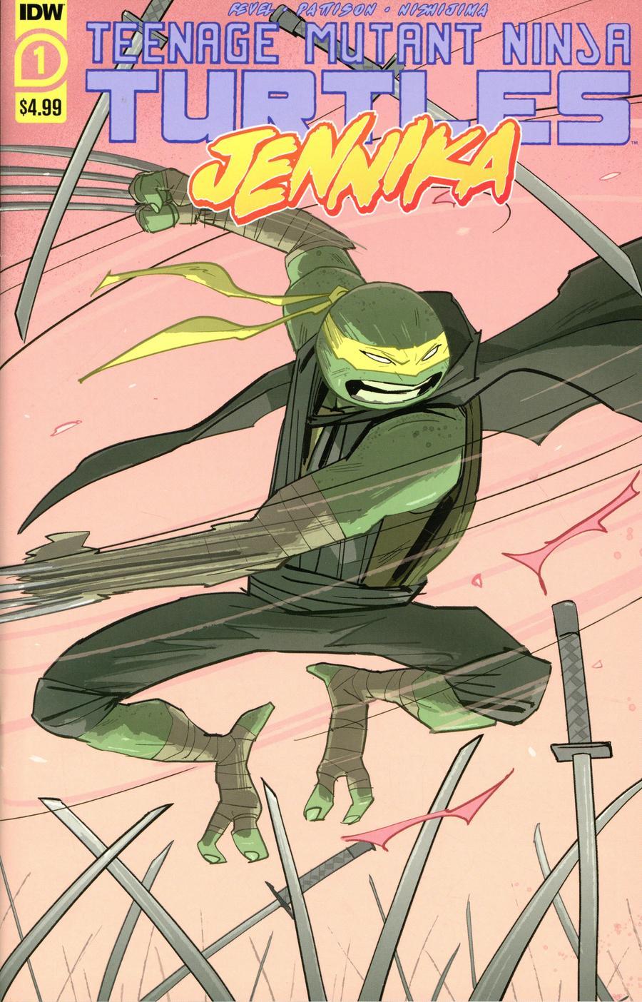 Teenage Mutant Ninja Turtles: Jennika #1 (2020)