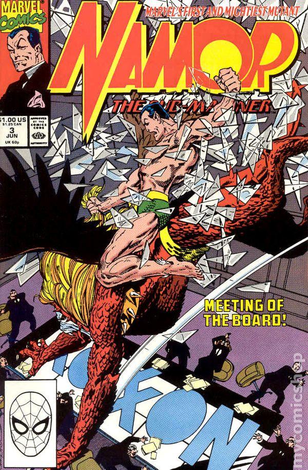 Namor, the Sub-Mariner #3 (1990)