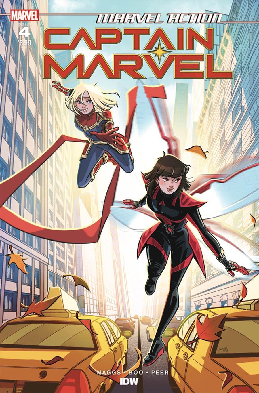 Marvel Action: Captain Marvel #4 (2020)