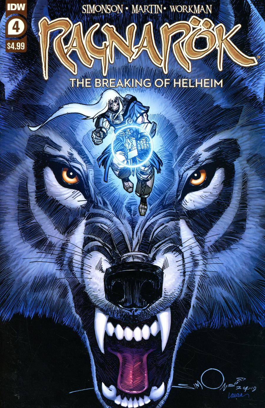 Ragnarok: The Breaking Of Helheim #4 (2020)