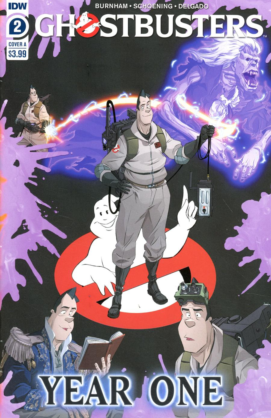 Ghostbusters: Year One #2 (2020)