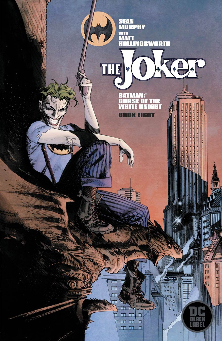 Batman: Curse Of The White Knight #8 (2020)