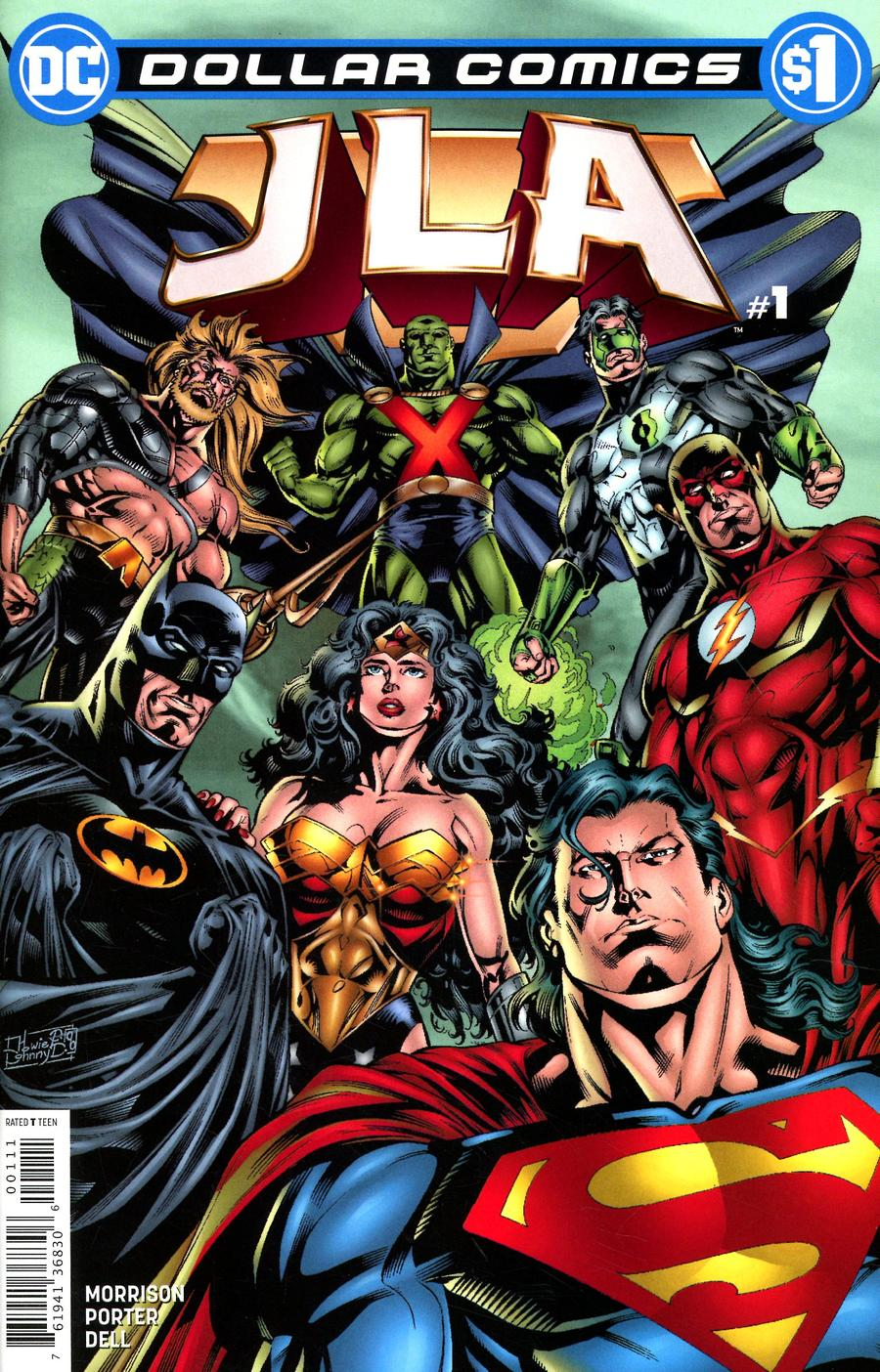 Dollar Comics: JLA #1 (2020)