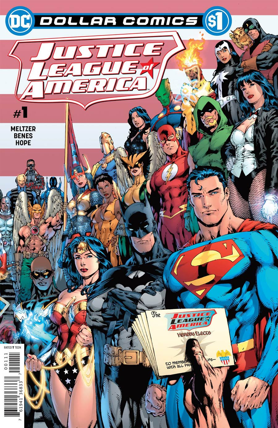 Dollar Comics: Justice League Of America #1 (2020)