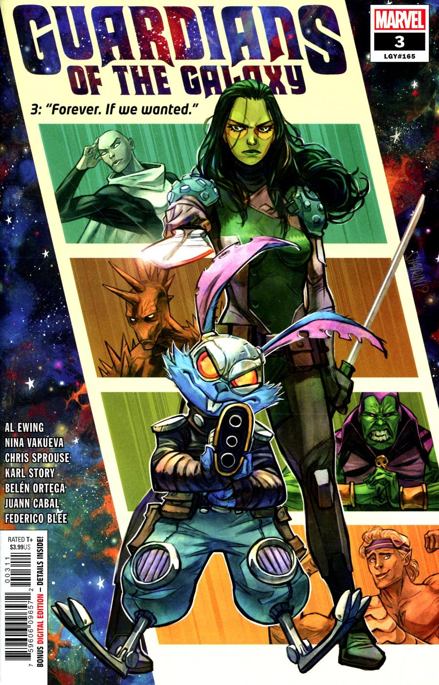 Guardians Of The Galaxy #3 (2020)
