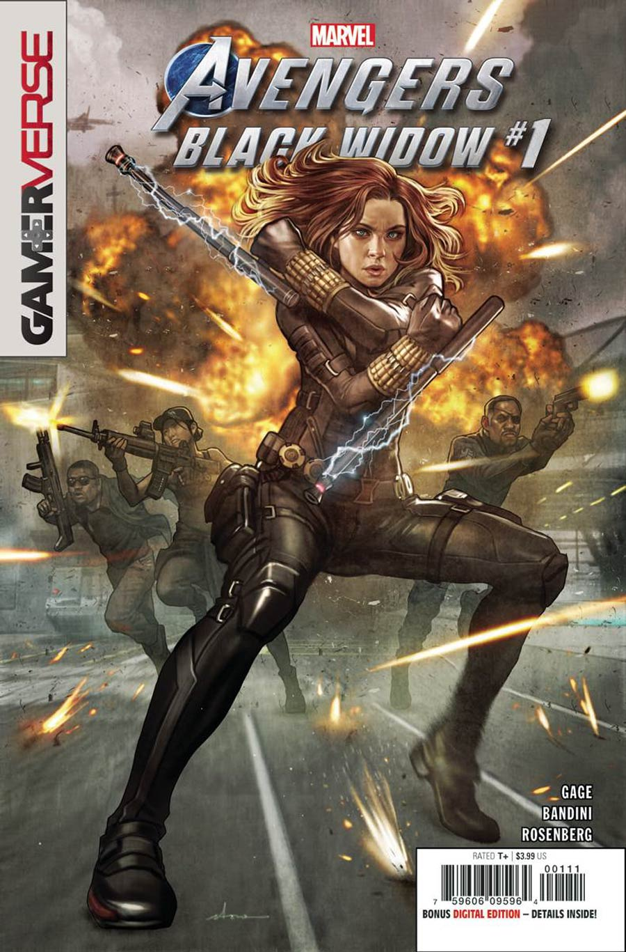 Marvel's Avengers: Black Widow #1 (2020)