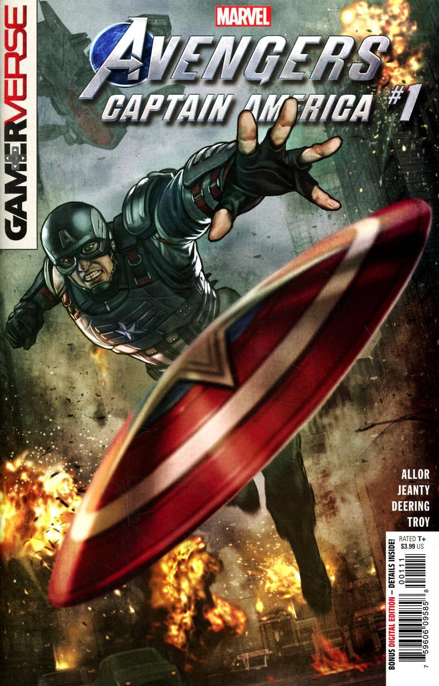 Marvel's Avengers: Captain America #1 (2020)