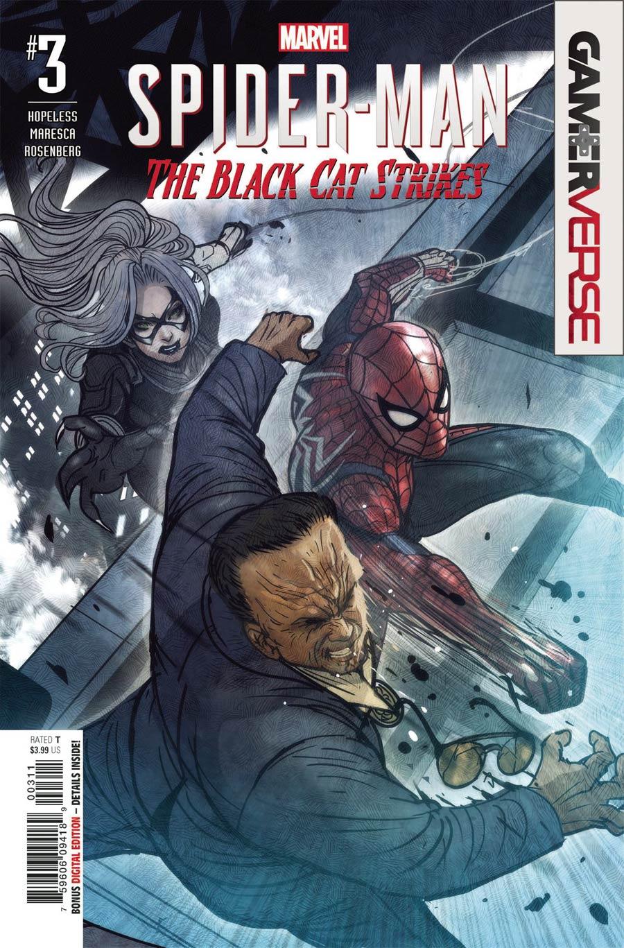 Spider-Man: Black Cat Strikes #3 (2020)