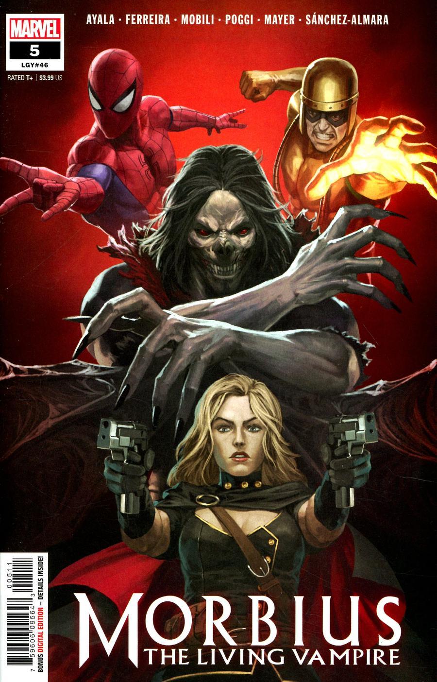 Morbius #5 (2020)