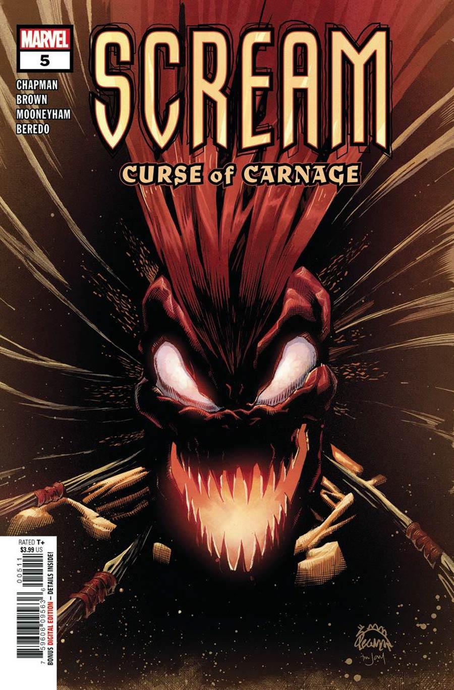 Scream: Curse Of Carnage #5 (2020)