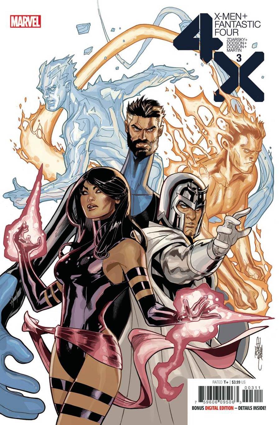 X-Men Fantastic Four #3 (2020)