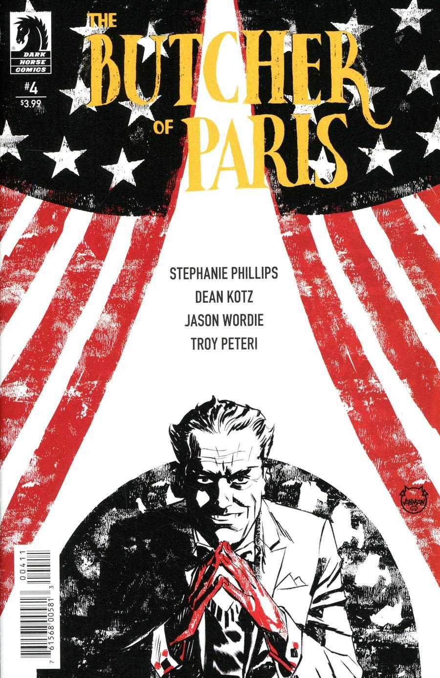 The Butcher Of Paris #4 (2020)