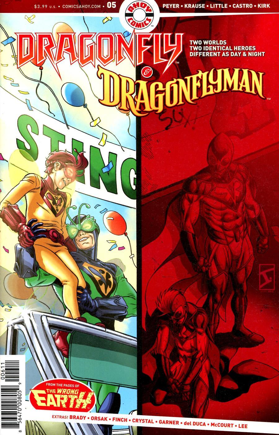 Dragonfly & Dragonflyman #5 (2020)