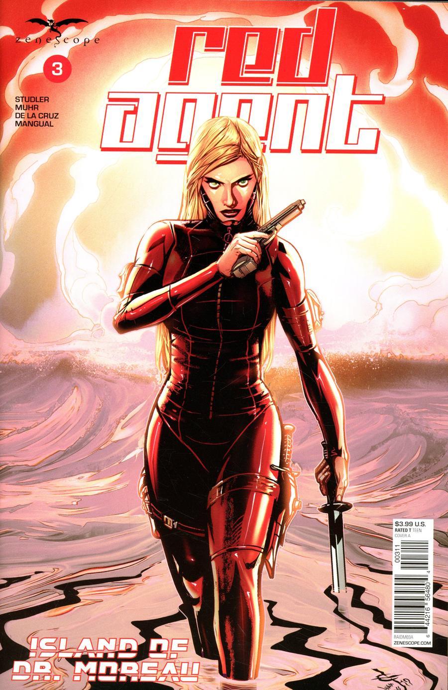 Red Agent: Island of Dr Moreau #3 (2020)