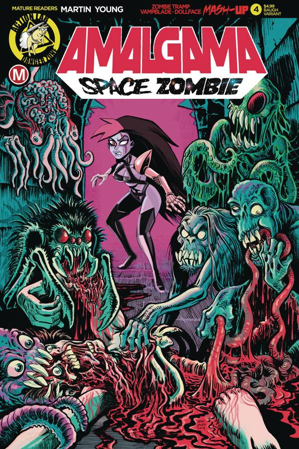Amalgama Space Zombie #4 (2020)