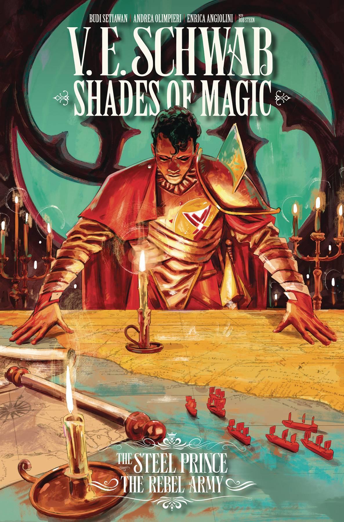 Shades Of Magic: The Rebel Army #4 (2020)