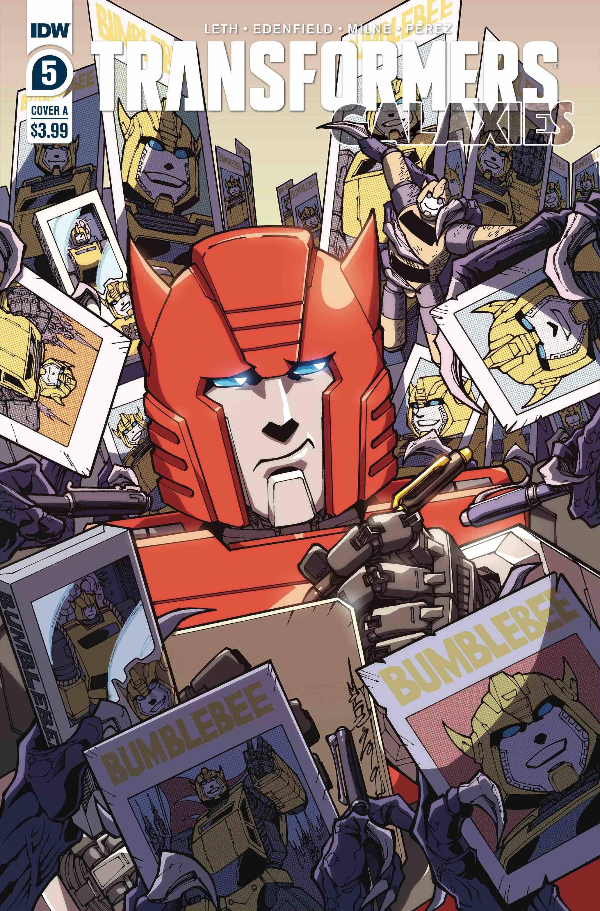 Transformers: Galaxies #5 (2020)