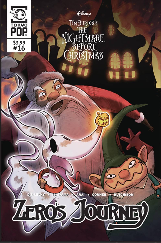 The Nightmare Before Christmas: Zero's Journey #16 (2020)