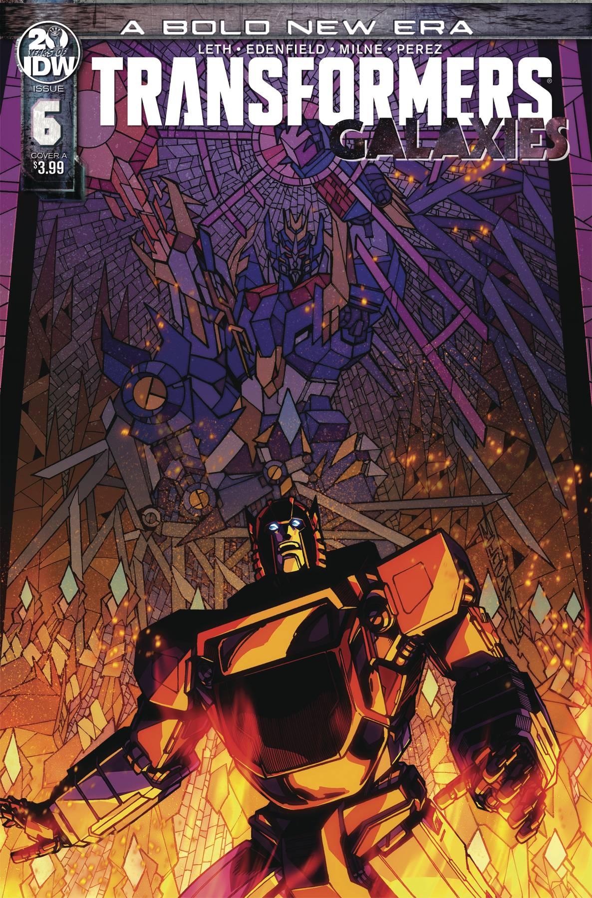 Transformers: Galaxies #6 (2020)
