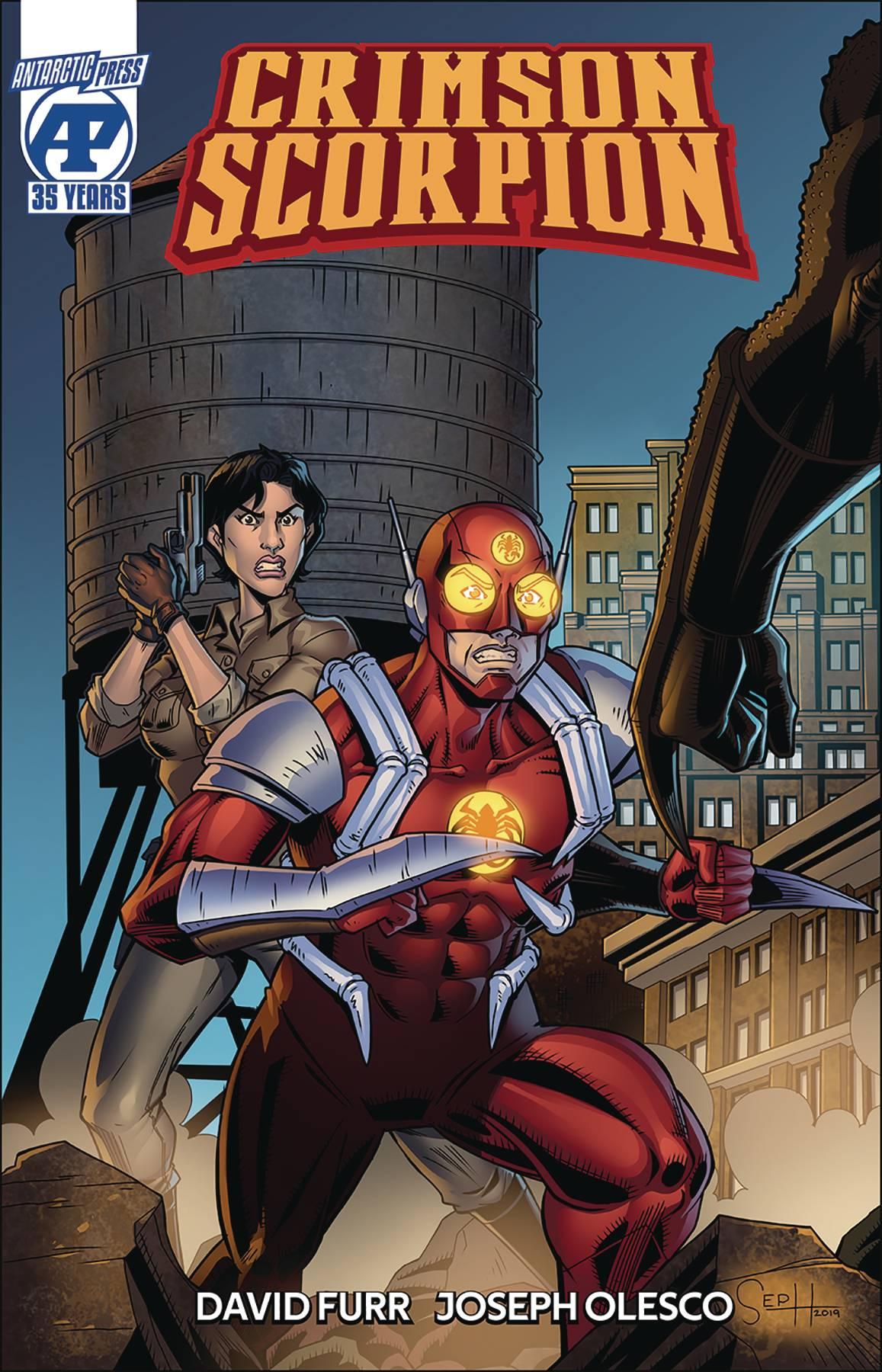 Crimson Scorpion #1 (2020)