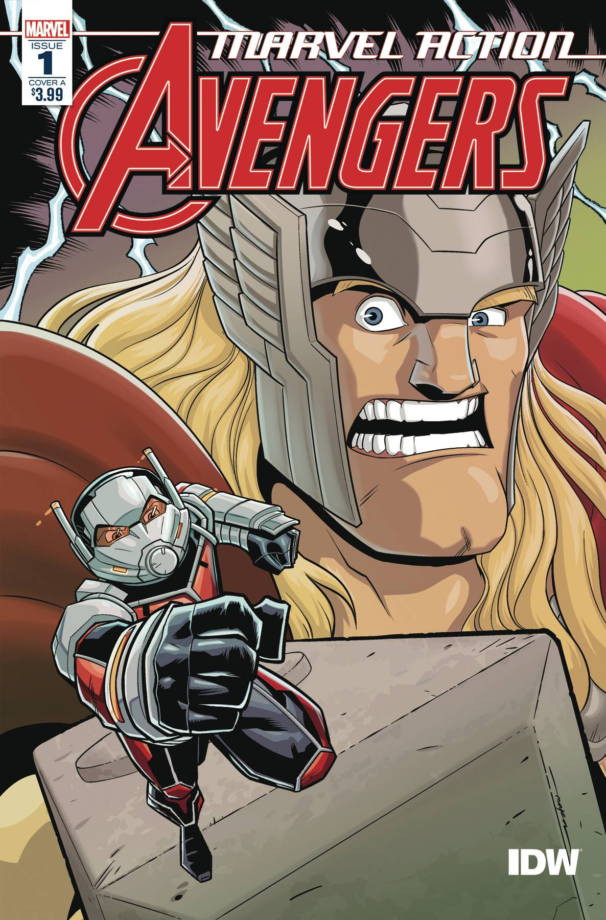 Marvel Action: Avengers #1 (2020)