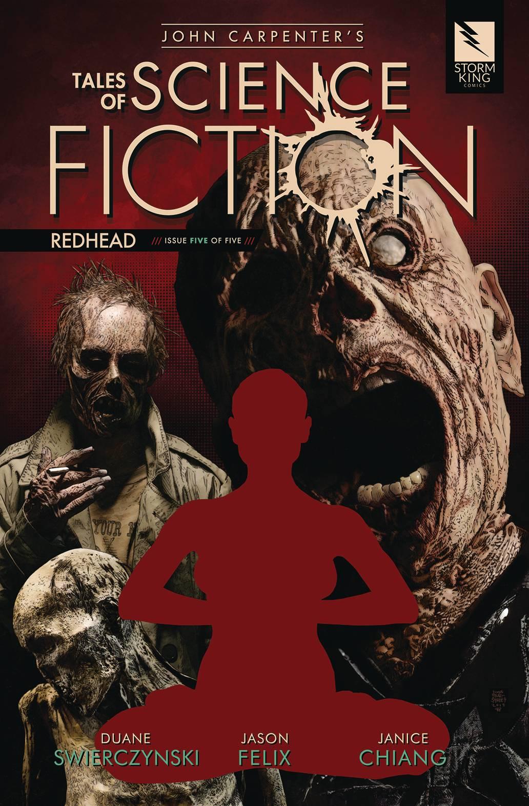 John Carpenter's Tales Science Fiction: Redhead #5 (2020)