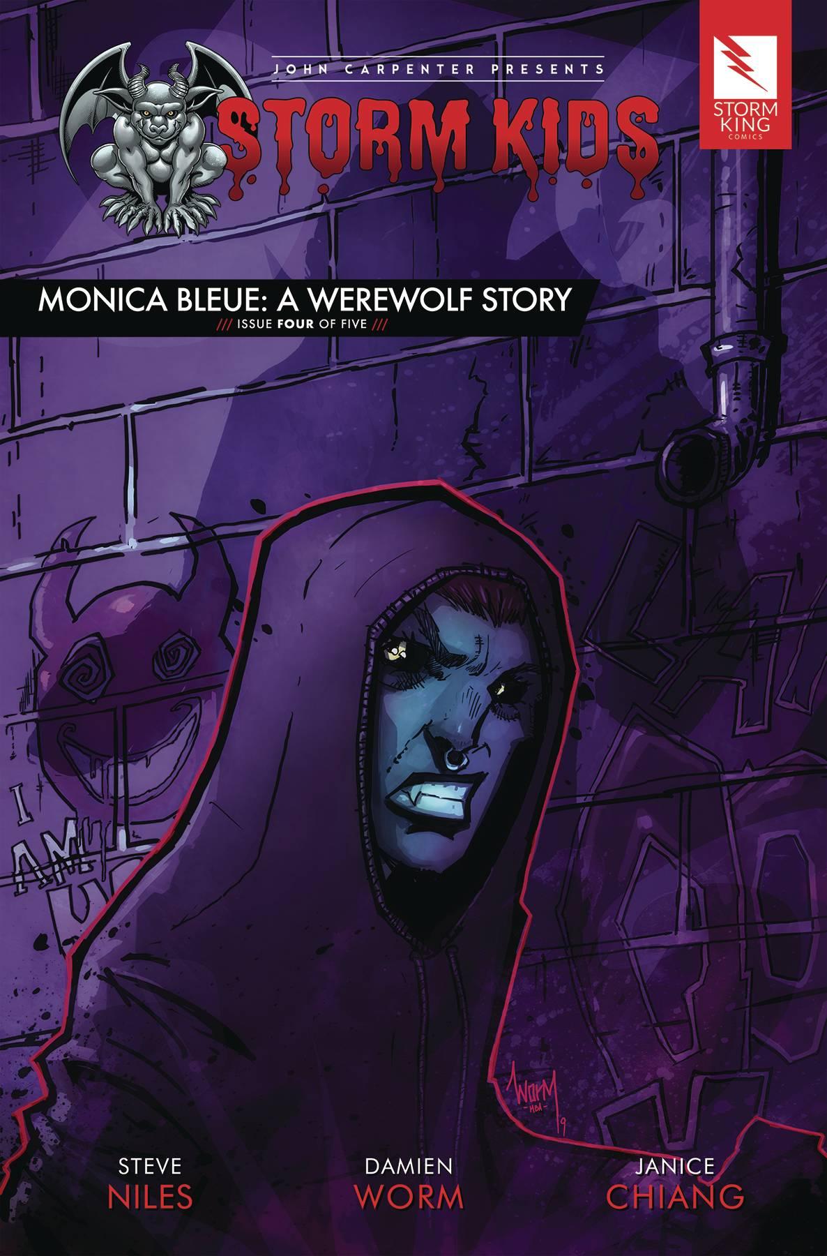 Storm Kids: Monica Bleue - A Werewolf Story #4 (2020)