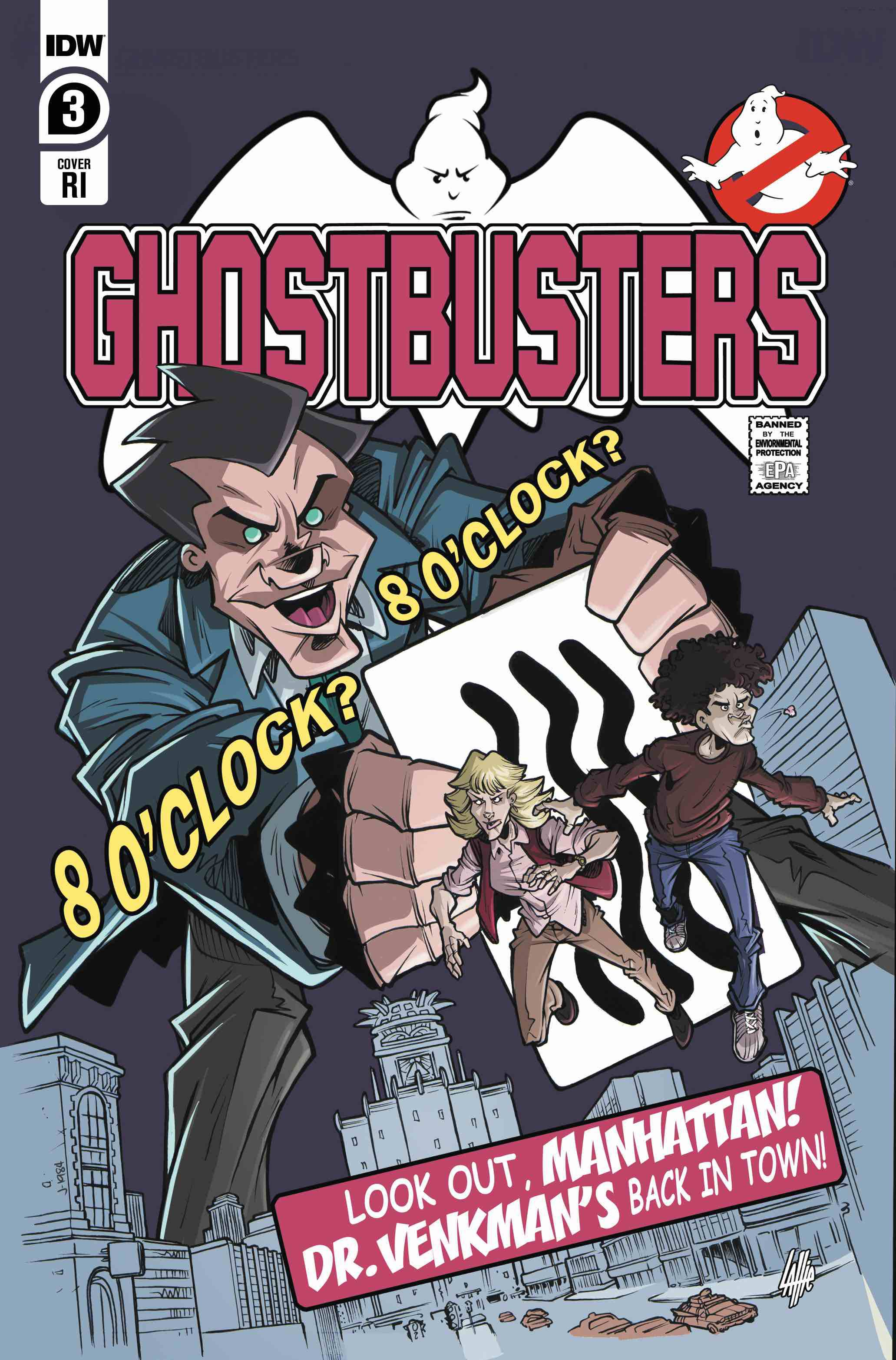 Ghostbusters: Year One #3 (2020)