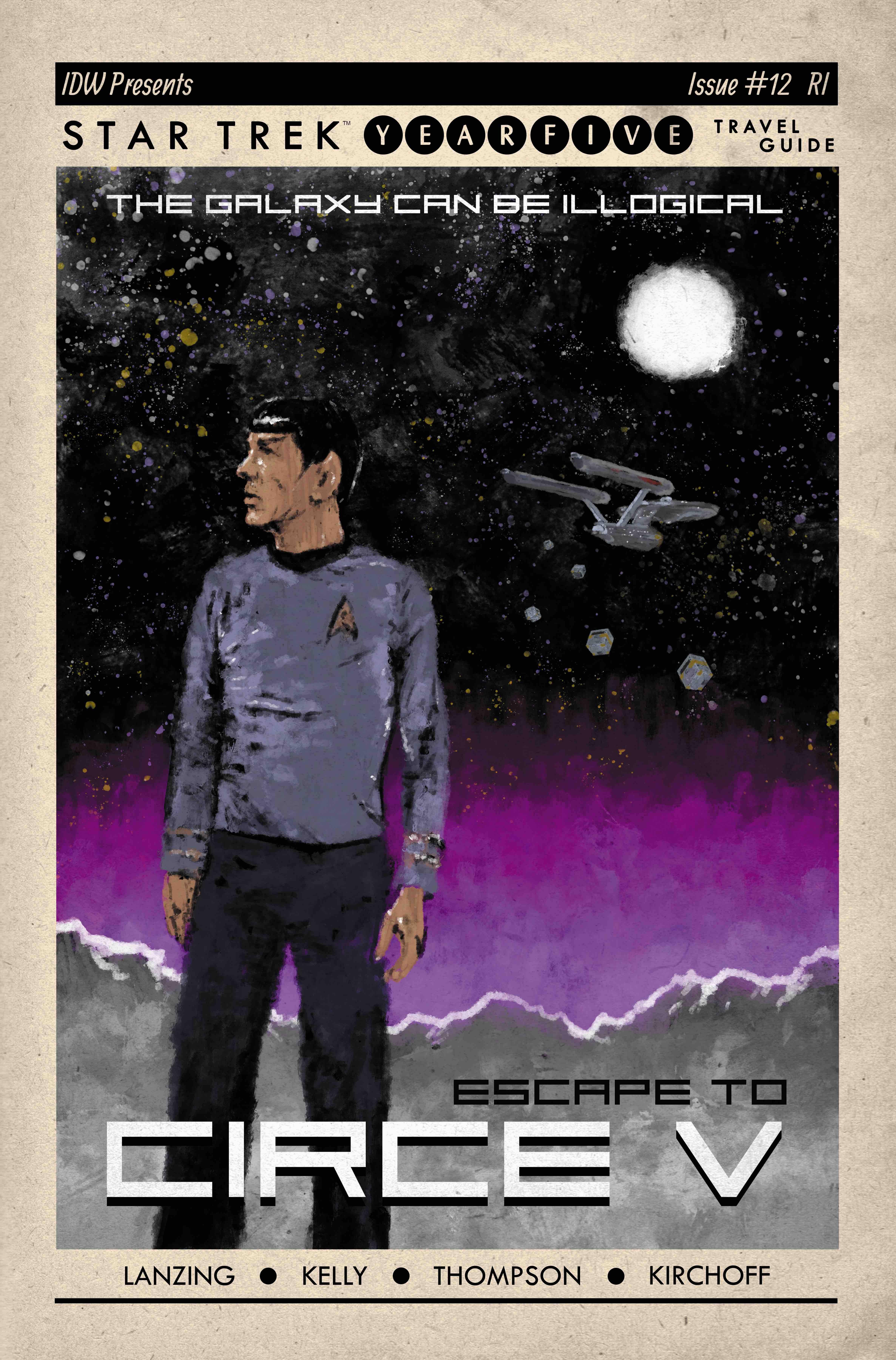 Star Trek: Year Five #12 (2020)